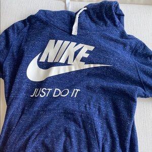 Woman's Nike sweatshirt with hood, never worn